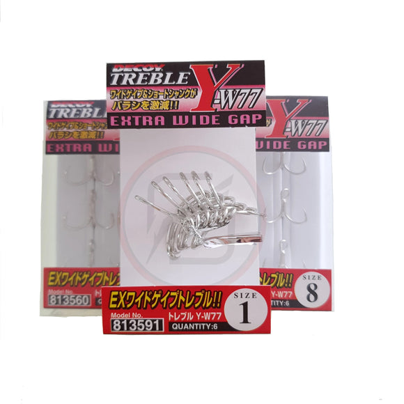 DECOY Treble Y-W77 (Made in Japan)