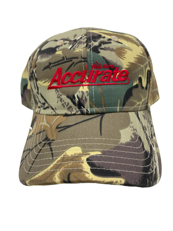 Accurate Wood Camo Cap