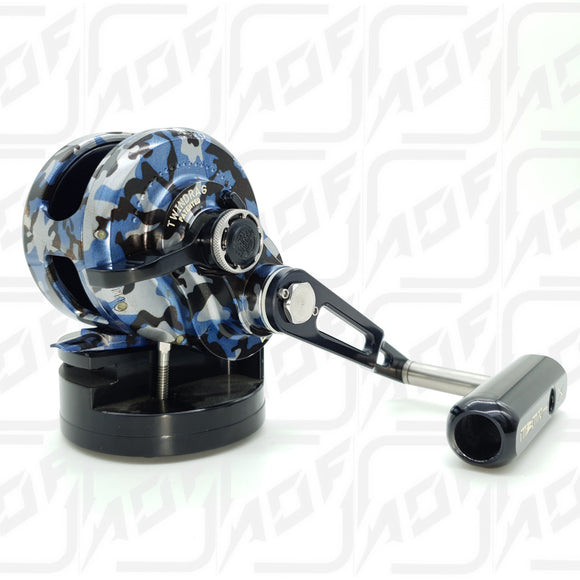 Accurate Boss Single Speed Reel BX-600NN - CAMO