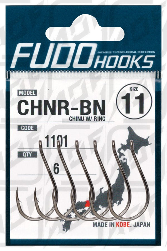 FUDO Hook CHNR-BN Chinu Ring (Made In Japan)