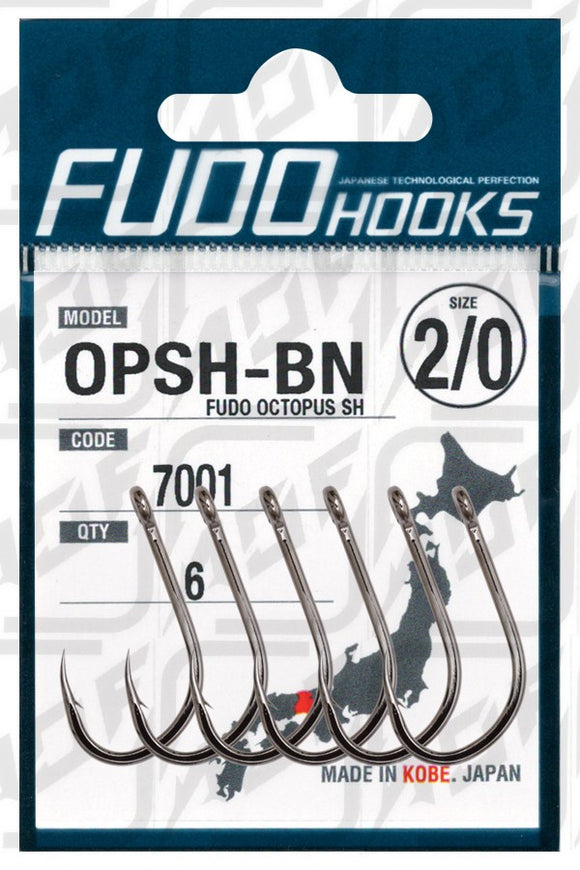 FUDO Hook OPSH-BN Octopus SH (Made in Japan)