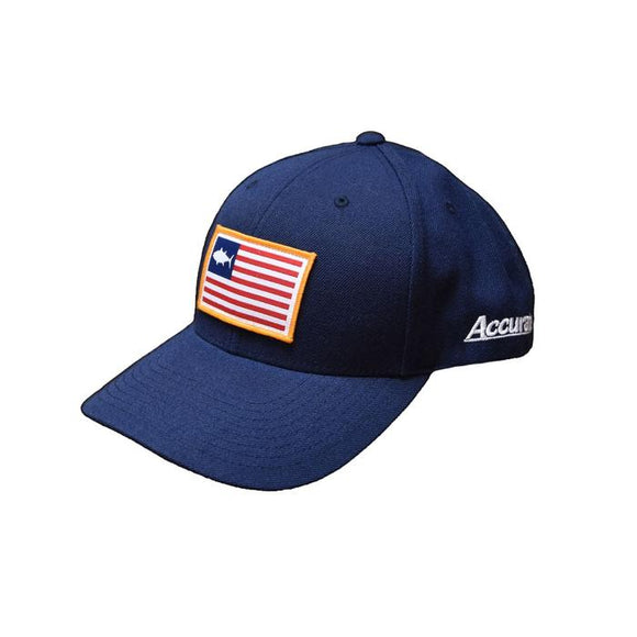 Accurate Navy-Fish-Flag-Hat