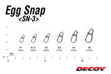 DECOY Egg Snap SN-3 (Made in Japan)
