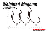 DECOY Weighted MAGNUM Worm 126 (Made in Japan)