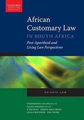 African Customary Law in South Africa