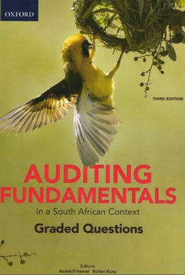 Auditing Fundamentals in a SA Context: Graded Questions 3e