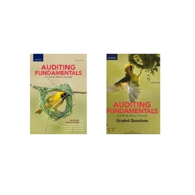 Auditing Fundamentals in a South African Context (Bundle)