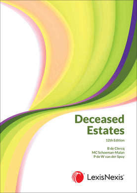 Deceased Estates 12th ed