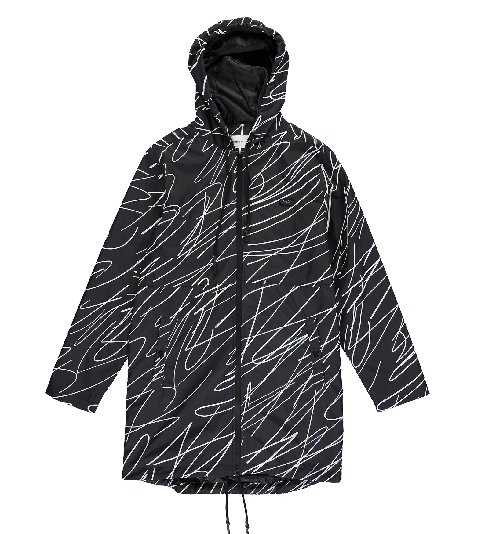 Scribble Raincoat — Full