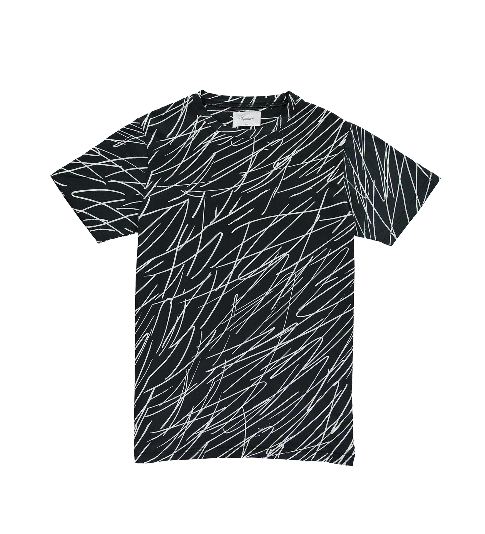 Scribble T-Shirt — Black