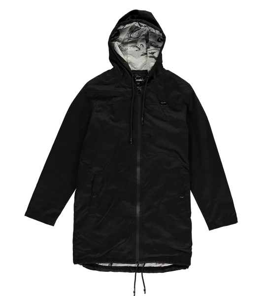 Marble Raincoat — Black