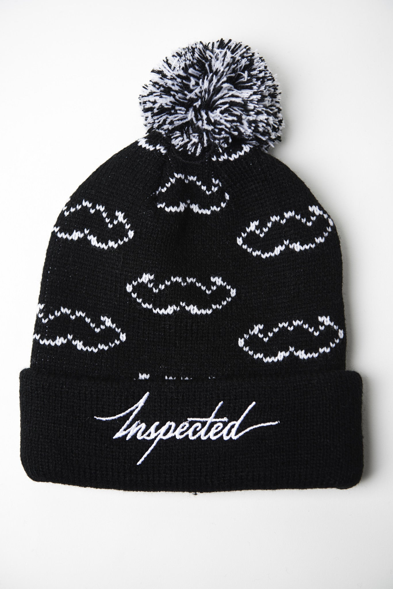 Outline Beanie - Black