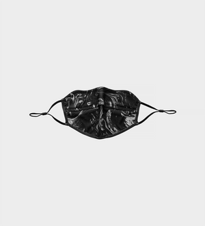 Marble Face Mask — Black