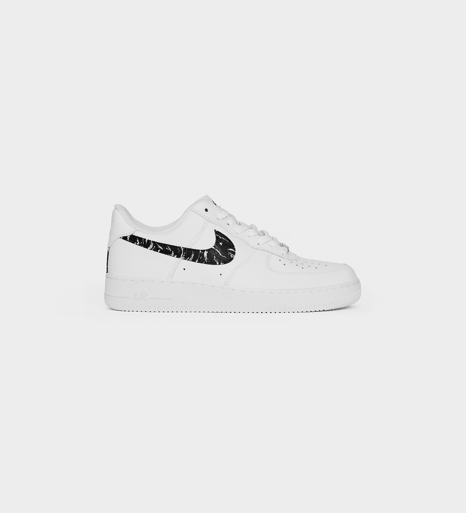 Air Force 1 Marble — White Edition