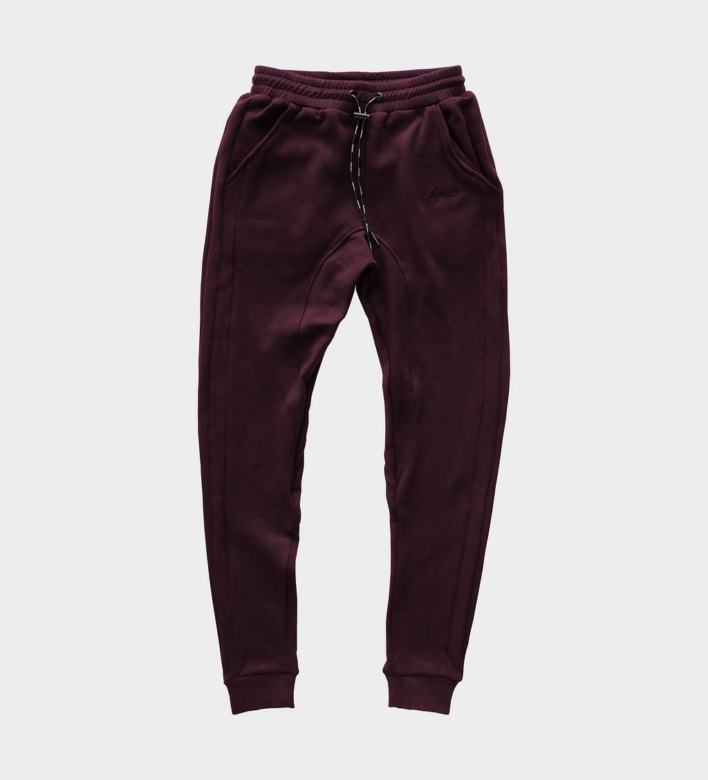 Remastered Sweatpants — Maroon
