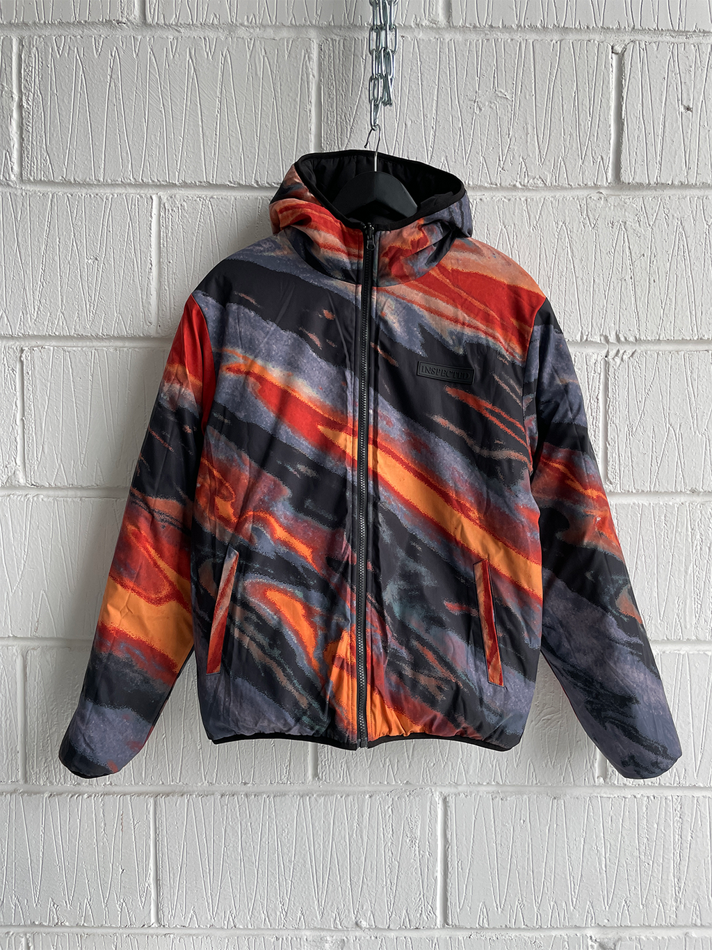 SAMPLE JACKET — LAVA REVERSIBLE PUFFER (M)