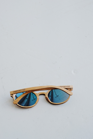 SAMPLE SUNGLASSES — BLUE TINTED