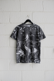 SAMPLE T-SHIRT — GREY MARBLE