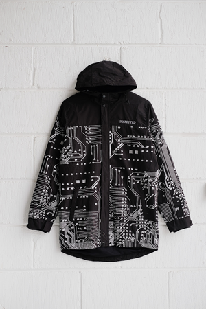 SAMPLE JACKET — SYSTEMS RAINCOAT