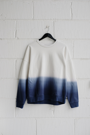 SAMPLE SWEATSHIRT — DIP DYE