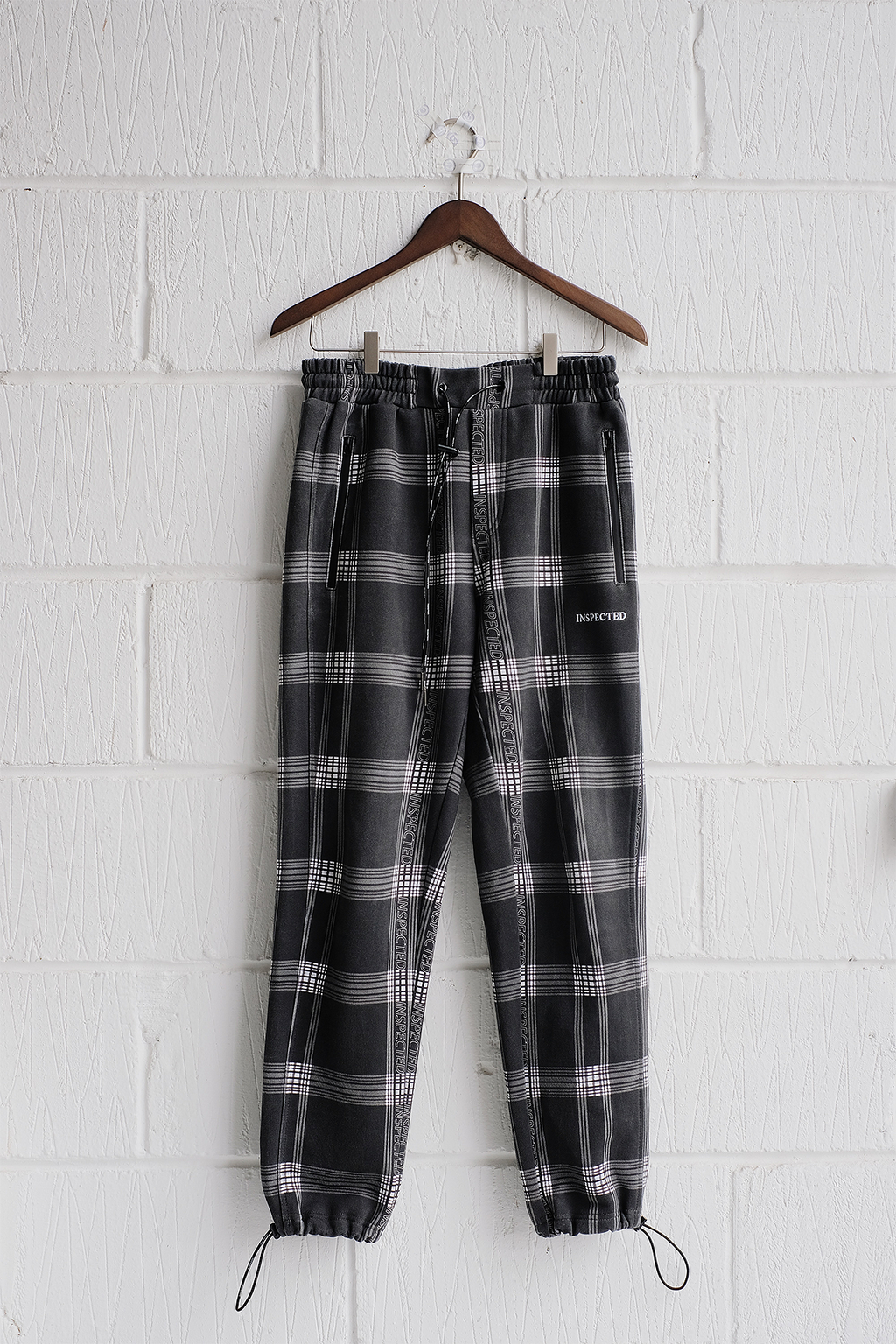 SAMPLE PANTS — CHECKED