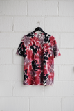 SAMPLE T-SHIRT — RED TIE DYE