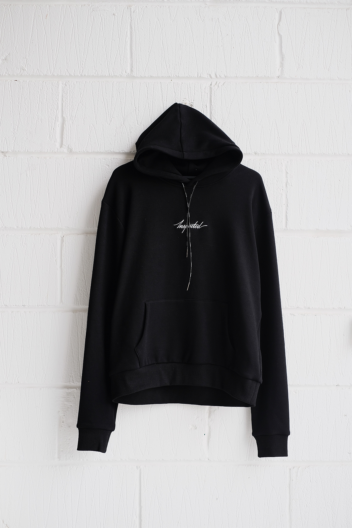 SAMPLE HOODIE — REMASTERED (SMALL LOGO)