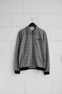 SAMPLE JACKET — HOUNDSTOOTH JACKET