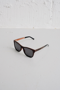 SAMPLE SUNGLASSES — LAYERED WOOD