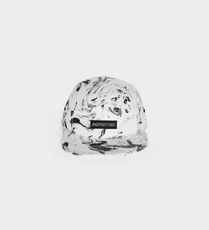 Marble 5 Panel — White