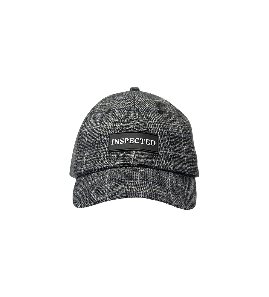 Division Cap — Dark Check
