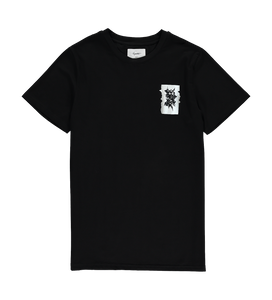 Degraded Tee — Black