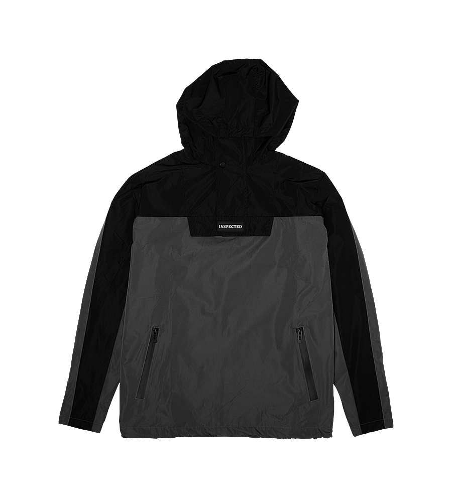 Nexus Anorak — Black/Slate Grey