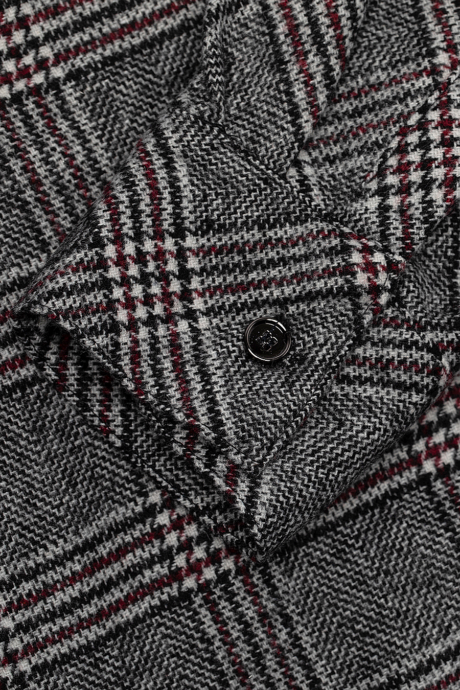 Checked Shirt — Merlot Check
