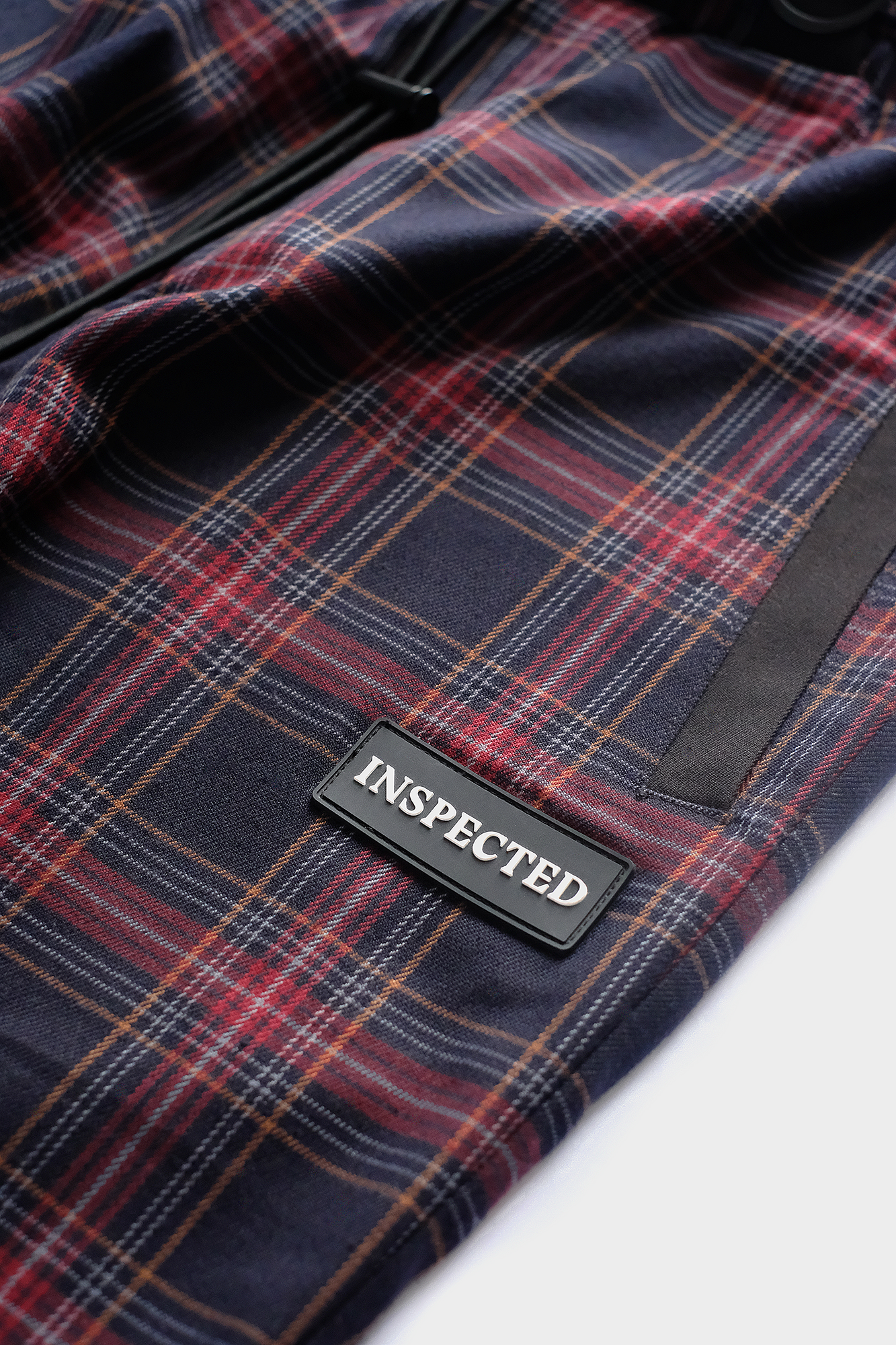 Division Pants — Royal Check