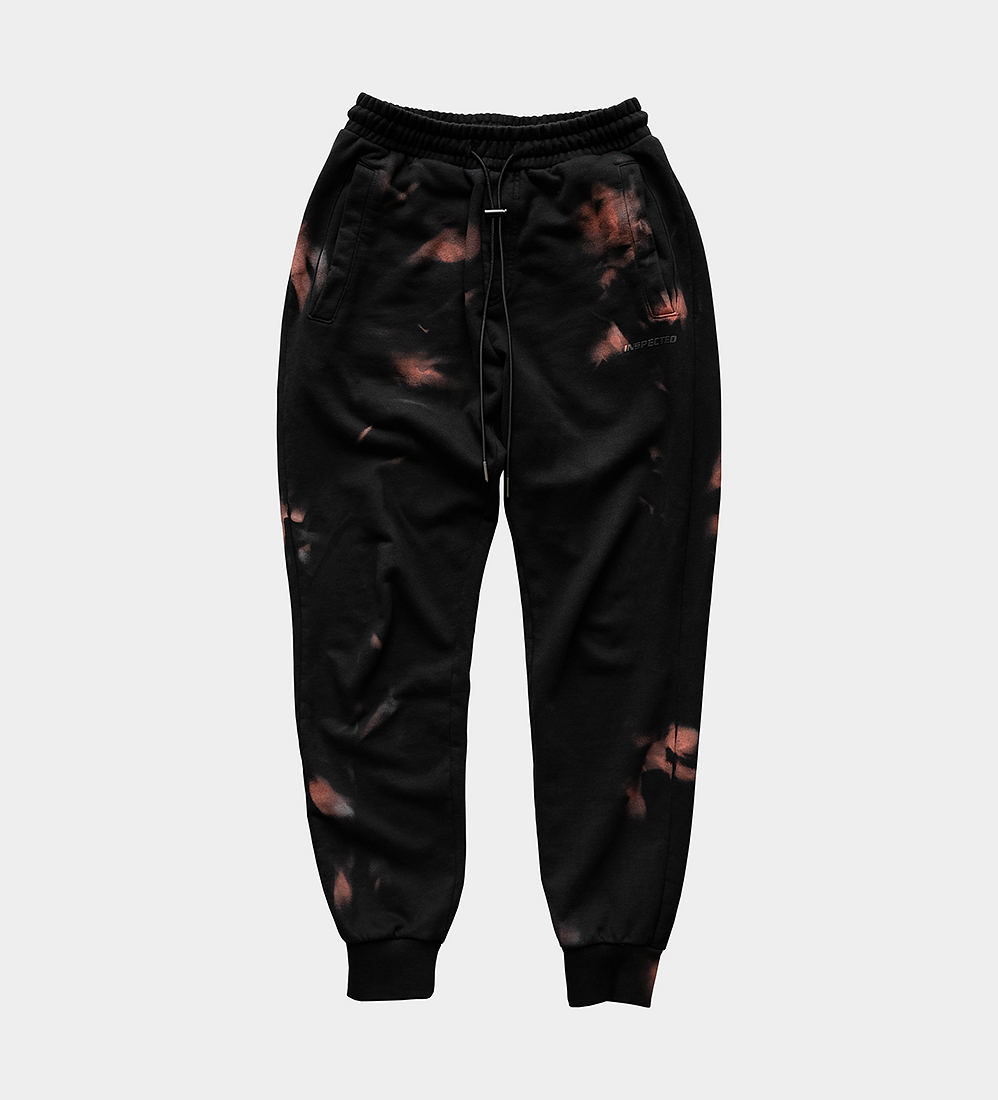 Rust Sweatpants — Black
