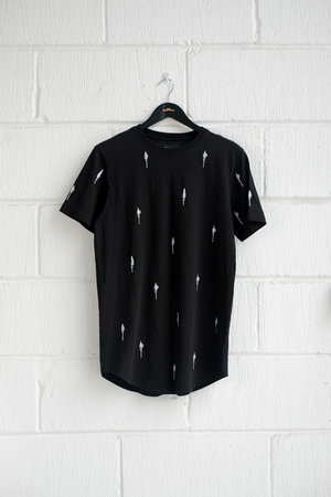SAMPLE T-SHIRT — PINES BLACK