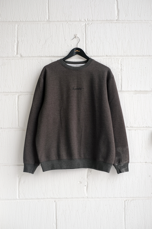 SAMPLE SWEATSHIRT — CHARCOAL