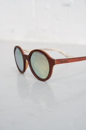 SAMPLE SUNGLASSES — GOLD DREW