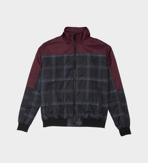 Equaliser Jacket — Plaid Maroon