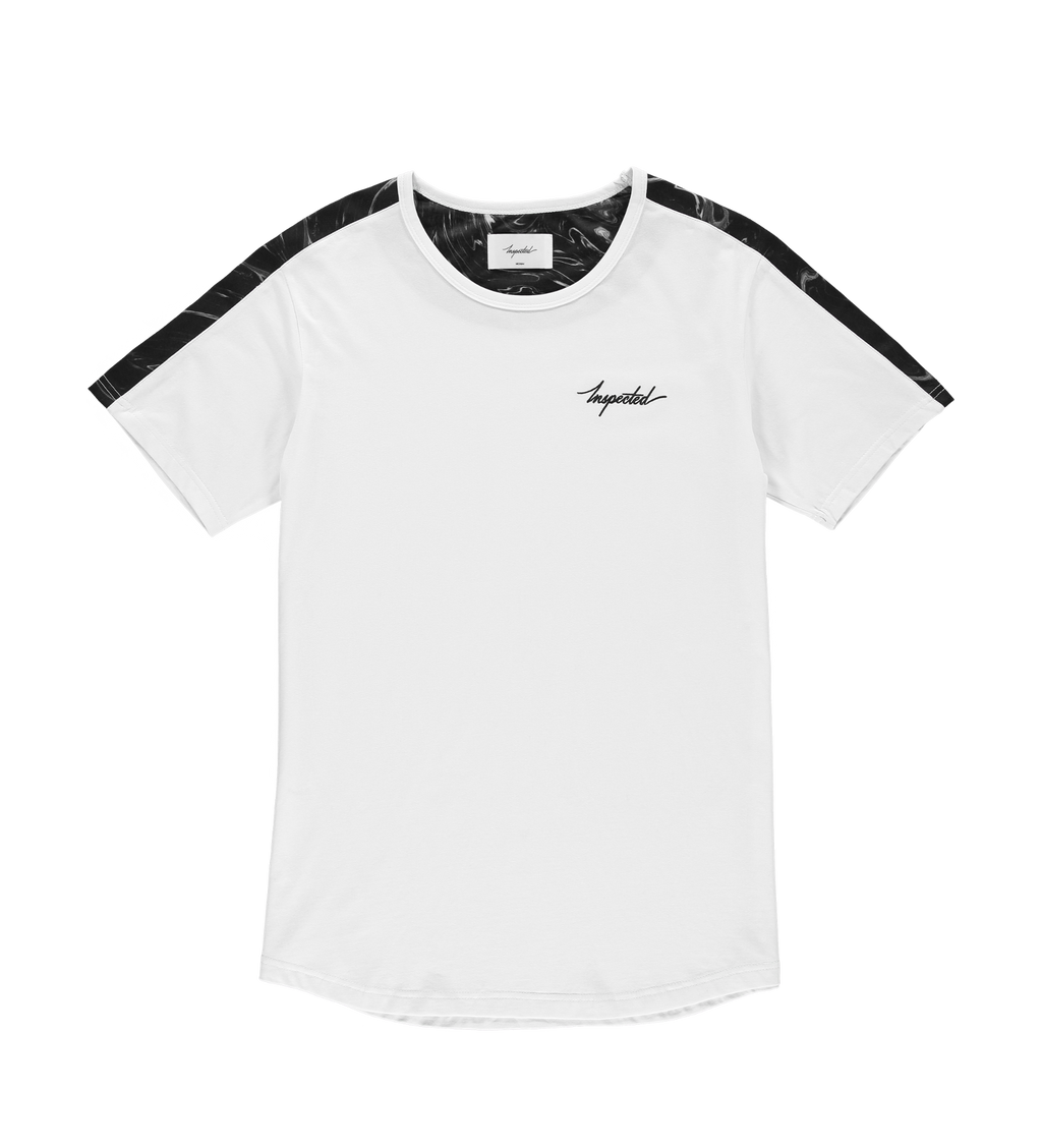 Marble Remastered T-Shirt — White