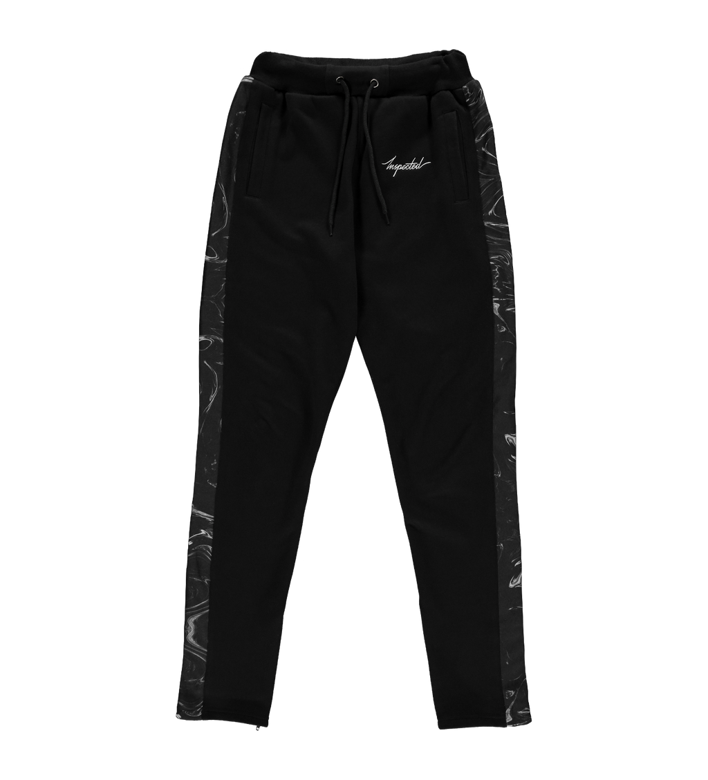 Marble Remastered Trackpants — Black