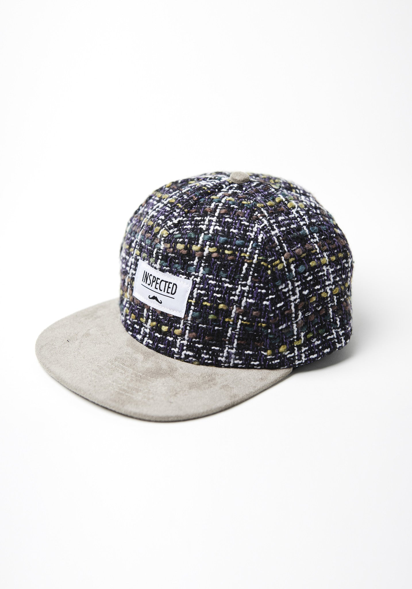 Mixed Fabric Snapback