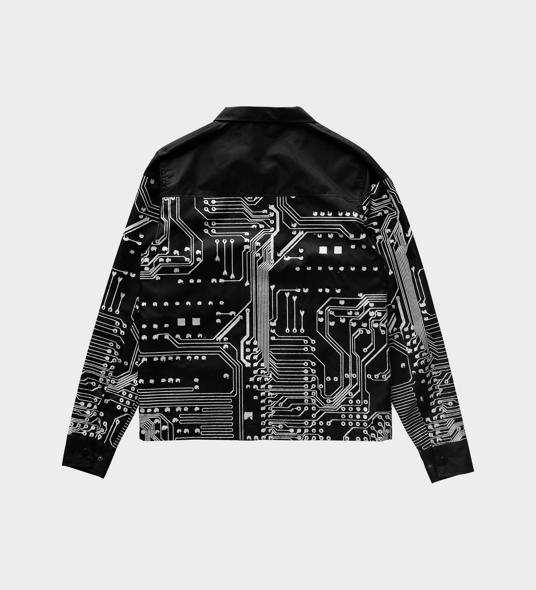 Systems Short Jacket — Black