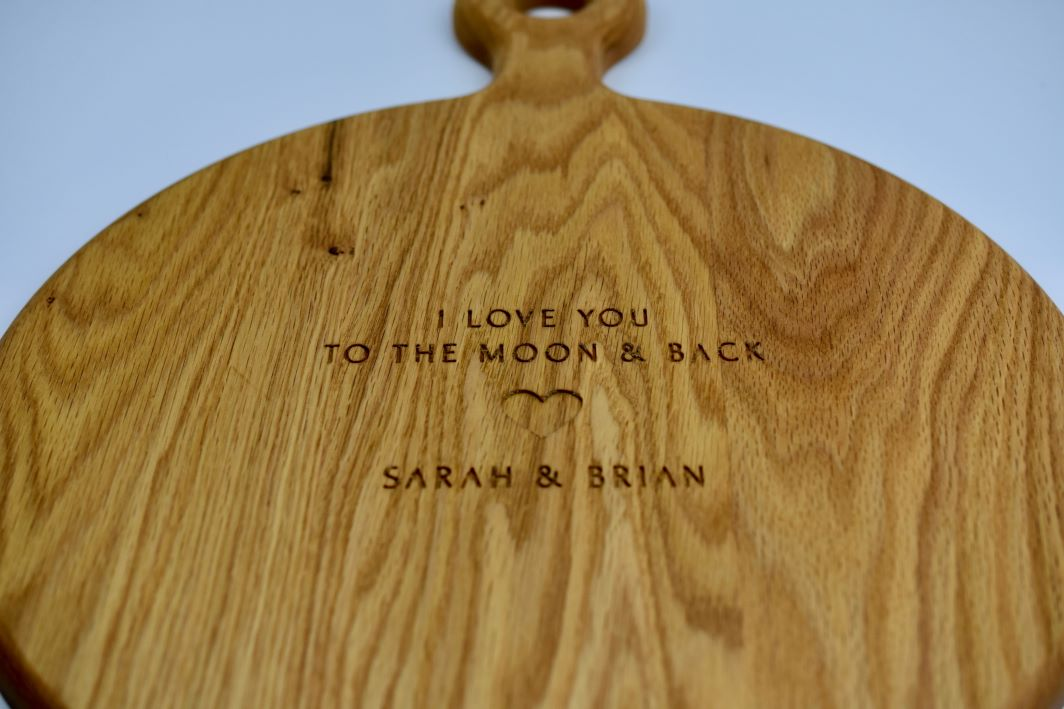 The Moon & Back Board