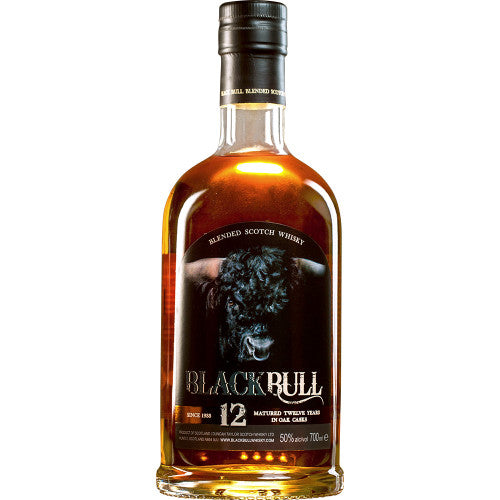 Duncan Taylor Black Bull 12 Year Old Blended Scotch Whisky