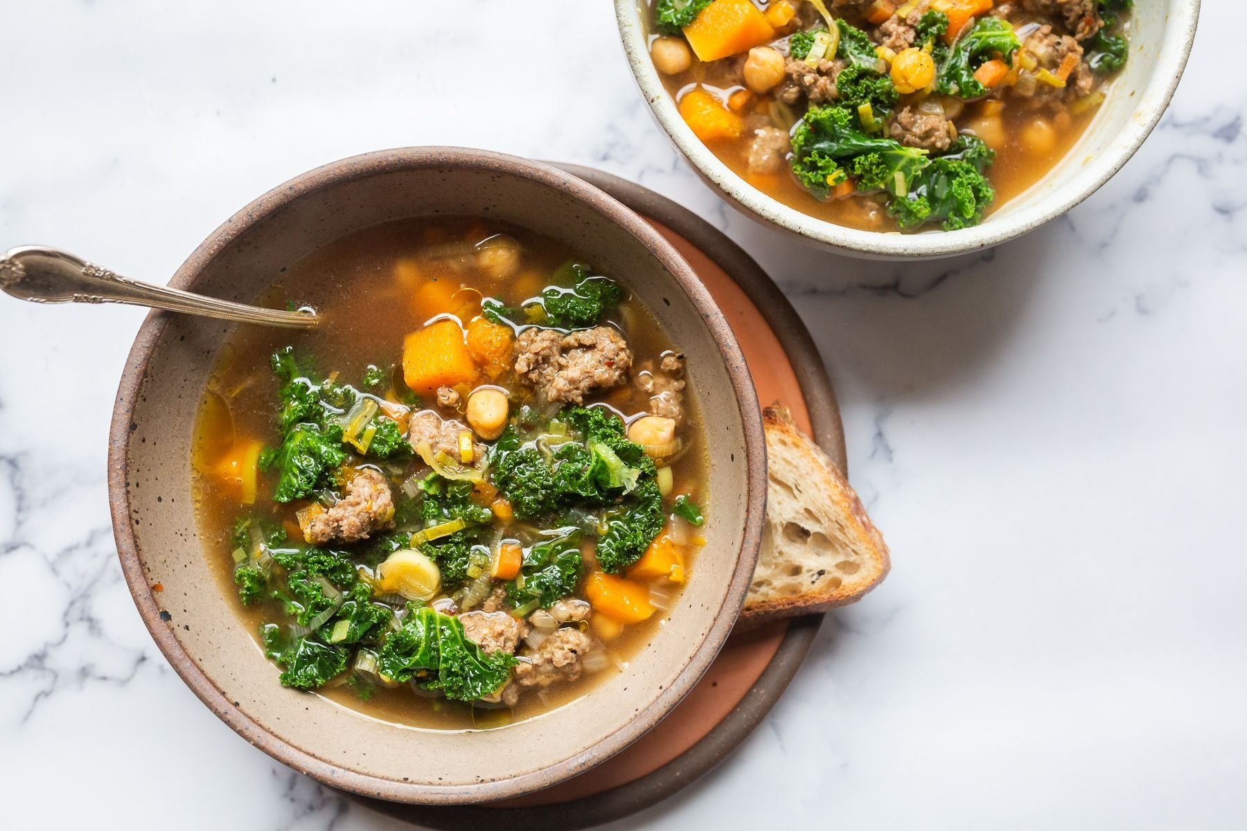 Tuscan Stew with Chickpeas and Squash