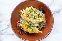 Roasted Cabbage with Cheese