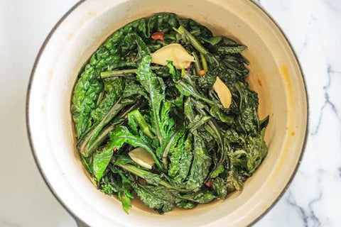 How to cook spring greens