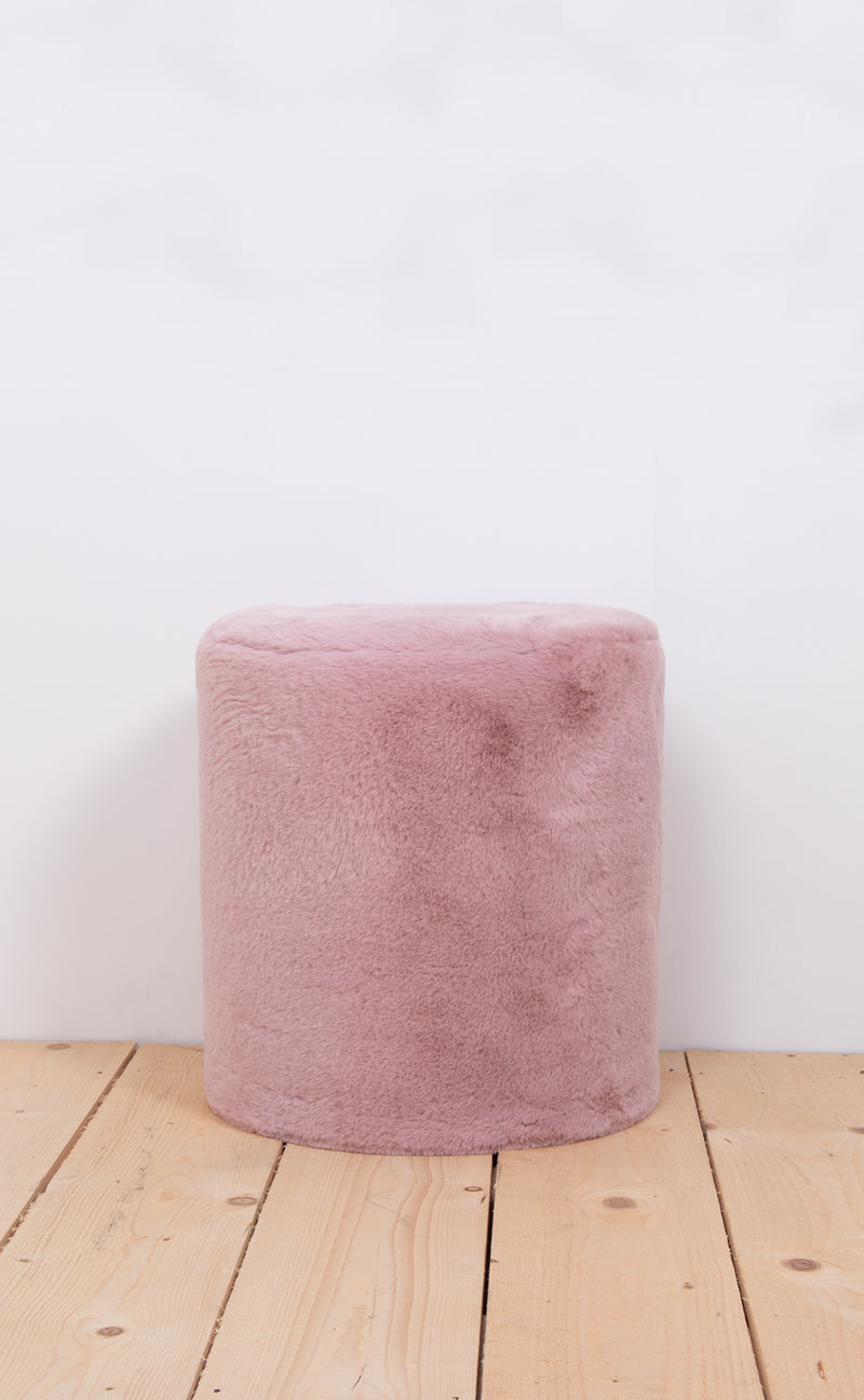 Pouffe medium dusk rose